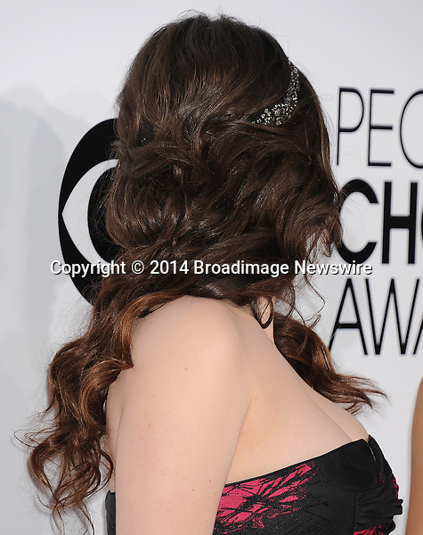 Pictured: Kat Dennings<br /> Mandatory Credit &copy; Gilbert Flores /Broadimage<br /> 2014 People's Choice Awards <br /> <br /> 1/8/14, Los Angeles, California, United States of America<br /> Reference: 010814_GFLA_BDG_263<br /> <br /> Broadimage Newswire<br /> Los Angeles 1+  (310) 301-1027<br /> New York      1+  (646) 827-9134<br /> sales@broadimage.com<br /> http://www.broadimage.com