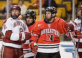 Dylan Reese (Harvard - 2), ?, Kyle Kraemer (NU - 16) - The Northeastern University Huskies defeated the Harvard University Crimson 3-1 in the Beanpot consolation game on Monday, February 12, 2007, at TD Banknorth Garden in Boston, Massachusetts.