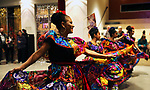 Dancers from International Folkloric Dancers from Dayton performed as dozens of artists from around the state of Nevada who performed or demonstrating their crafts at the annual Capital Collage in Carson City, Nev., on Friday, October 27, 2017.<br /> Photo by Lance Iversen/Nevada Momentum