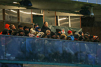 Supporters during the Championship Cup match between Ealing Trailfinders and Richmond at Castle Bar , West Ealing , England  on 15 December 2018. Photo by David Horn.
