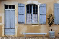 Europe/France/Aquitaine/40/Landes/Montfort-en-Chalosse: Musée d'arts et traditions populaires - Détail maison
