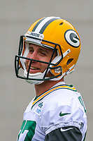 Green Bay Packers wide receiver Jordy Nelson (87) during an Organized Team Activity on May 23, 2017 at Clarke Hinkle Field in Green Bay, Wisconsin.  (Brad Krause/Krause Sports Photography)