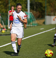 20190921 – LEUVEN, BELGIUM : OHL's Estee Cattoor is pictured during a women soccer game between  Oud Heverlee Leuven Ladies B and Eendracht Aalst Ladies on the fourth matchday of the Belgian Division 1 season 2019-2020, the Belgian women's football  national division 1, Saturday 21th September 2019 at the Bruinveld Youth Complex, Domeinstraat in Leuven , Belgium. PHOTO SPORTPIX.BE | SEVIL OKTEM