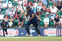 Varun Chopra of Essex in batting action during Kent Spitfires vs Essex Eagles, NatWest T20 Blast Cricket at The County Ground on 9th July 2017