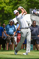 Ryan Palmer (USA) watches his tee shot on 3 during round 3 of the 2019 Charles Schwab Challenge, Colonial Country Club, Ft. Worth, Texas,  USA. 5/25/2019.<br /> Picture: Golffile | Ken Murray<br /> <br /> All photo usage must carry mandatory copyright credit (© Golffile | Ken Murray)
