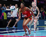 29/10/17 Fast5 2017<br /> Fast 5 Netball World Series<br /> Hisense Arena Melbourne<br /> 5/6 Malawi v South Africa<br /> <br /> <br /> <br /> <br /> <br /> <br /> Photo: Grant Treeby