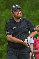 Shane Lowry (IRL) watches his tee shot on 2 during round 4 of the Houston Open, Golf Club of Houston, Houston, Texas. 4/1/2018.<br /> Picture: Golffile | Ken Murray<br /> <br /> <br /> All photo usage must carry mandatory copyright credit (&copy; Golffile | Ken Murray)