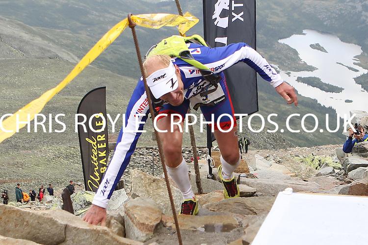 Race number 3 - Tom Remman - Sunday Norseman Xtreme Tri 2012 - Norway - photo by chris royle / boxingheaven@gmail.com