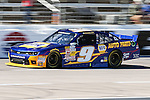 Chase Elliott (9) in action during the NASCAR Nationwide Series qualifying at Texas Motor Speedway in Fort Worth,Texas.