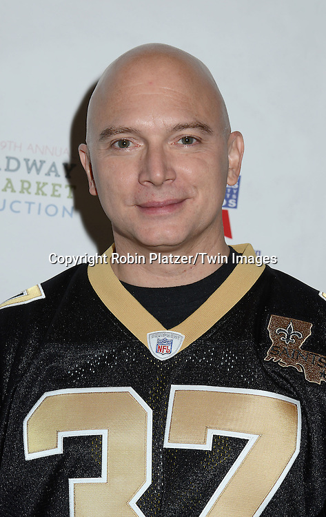 Michael Ceveris attends the 29th Annual Broadway Flea Market &amp; Grand Auction benefitting Broadway Cares/ Equity Fights Aids  at Shubert Alley on September 27, 2015 in New York, New York, USA.<br /> <br /> photo by Robin Platzer/Twin Images<br />  <br /> phone number 212-935-0770