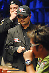 Jerry Yang reacts to knocking out Philip Hilm