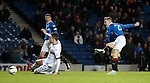 Dean Shiels scores goal no 3 for Rangers on the stroke of full-time