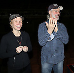Charlotte d'Amboise & Terrence Mann attending the Broadway Opening Night Gypsy Robe Ceremony honoring Stephanie Pope for 'Pippin' at the Music Box Theatre in New York City on 4/25/2013