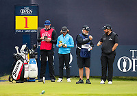 210719 | The 148th Open - Final Round<br /> <br /> Shane Lowry of Ireland and Tommy Fleetwood in the final pairing during the final round of the 148th Open Championship at Royal Portrush Golf Club, County Antrim, Northern Ireland. Photo by John Dickson - DICKSONDIGITAL