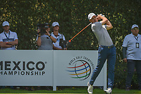 Jordan Spieth (USA) watches his tee shot on 12 during round 2 of the World Golf Championships, Mexico, Club De Golf Chapultepec, Mexico City, Mexico. 3/2/2018.<br /> Picture: Golffile | Ken Murray<br /> <br /> <br /> All photo usage must carry mandatory copyright credit (&copy; Golffile | Ken Murray)