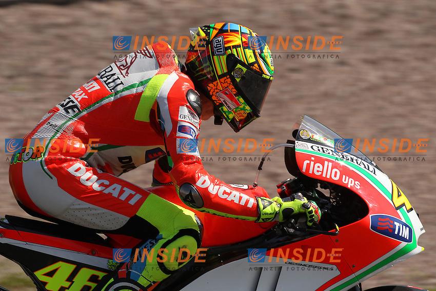 © Simone Rosa/Semedia..06-07-2012 Sachsenring (GER)..Motogp - motogp..in the picture: Valentino Rossi - Ducati team