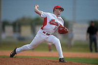 Illinois State Redbirds pitcher Jake Sale (24) during a game against the Bucknell Bison on March 8, 2015 at North Charlotte Regional Park in Port Charlotte, Florida.  Bucknell defeated Illinois State 13-8.  (Mike Janes Photography)