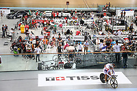 Tissot sign as seen during the UCI Cycling World Cup at the Avantidrome, Cambridge, New Zealand, Sunday, December 06, 2015. Credit: Dianne Manson/CyclingNZ/UCI