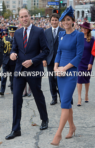 UK - 28 Days Out<br />24.09.2016; Victoria, Canada: DUKE &amp; DUCHESS OF CAMBRIDGE<br />at the official ceremony to welcome them held at the British Columbia Parliament Buildings, Victoria<br />The tour will take Royals to parts of both British Columbia and the Yukon.<br />Mandatory Photo Credit: &copy;NEWSPIX INTERNATIONAL<br /><br />IMMEDIATE CONFIRMATION OF USAGE REQUIRED:<br />Newspix International, 31 Chinnery Hill, Bishop's Stortford, ENGLAND CM23 3PS<br />Tel:+441279 324672  ; Fax: +441279656877<br />Mobile:  07775681153<br />e-mail: info@newspixinternational.co.uk<br />Usage Implies Acceptance of OUr Terms &amp; Conditions<br />Please refer to usage terms. All Fees Payable To Newspix International