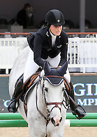 Jessica Rae Springsteen at the 2013 International Monte Carlo Jumping