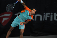 Ajeet Rai. 2019 Wellington Tennis Open at Renouf Centre in Wellington, New Zealand on Saturday, 21 December 2019. Photo: Dave Lintott / lintottphoto.co.nz