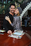 Bold and The Beautiful Don Diamont & Young and Restless Michelle Stafford at the Soapstar Spectacular starring actors from OLTL, Y&R, B&B and ex ATWT & GL on November 20, 2010 at the Myrtle Beach Convention Center, Myrtle Beach, South Carolina. (Photo by Sue Coflin/Max Photos)