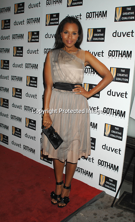 Kerry Washington ..arriving at The Creative Coaltion's 2006 Spotlight and Christopher Reeve First Amendment Awards Gala hosted by ..Gotham Magazine on December 18, 2006 at Duvet in New York...Robin Platzer, Twin Images
