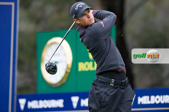 Thomas Detry (BEL) during the second day of the World cup of Golf, The Metropolitan Golf Club, The Metropolitan Golf Club, Victoria, Australia. 23/11/2018<br /> Picture: Golffile | Anthony Powter<br /> <br /> <br /> All photo usage must carry mandatory copyright credit (© Golffile | Anthony Powter)
