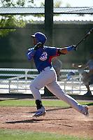 Eloy Jimenez - Chicago Cubs 2016 spring training (Bill Mitchell)