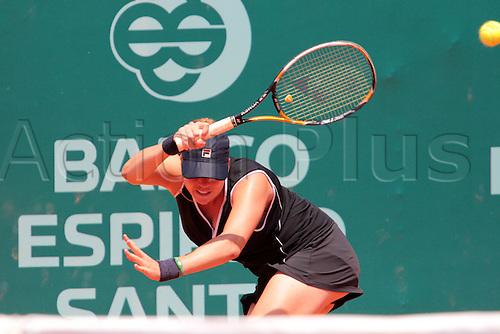 28.04.2011 Estoril Open Portugal...Alisa KLEYBANOVA (RUS) playing against Kristina BARROIS (GER)
