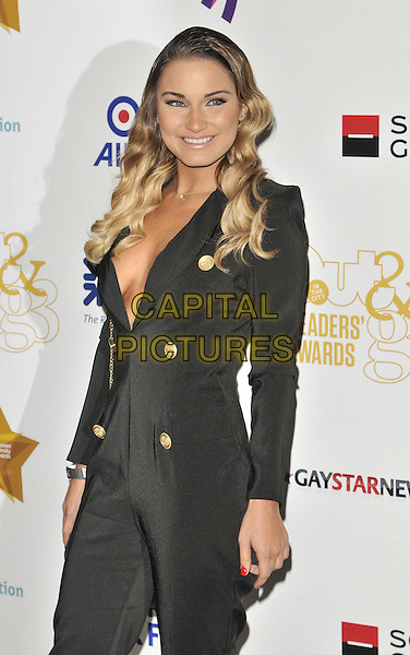 LONDON, ENGLAND - APRIL 25: Sam Faiers attends the Out In The City &amp; g3 Readers' Awards 2014, Landmark Hotel, Marylebone Rd., on Friday April 25, 2014 in London, England, UK.<br /> CAP/CAN<br /> &copy;Can Nguyen/Capital Pictures