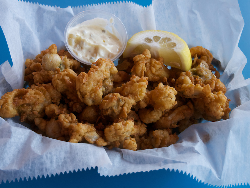 Fried clams, York