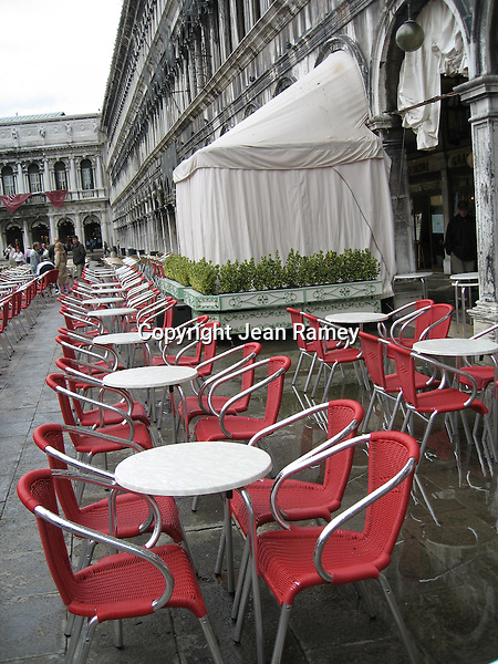 Red Chairs, Venice