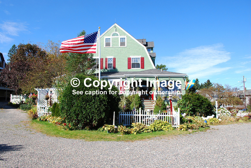 Rockmere Lodge, 150 Stearns Road, Ogunquit, Maine, bed & breakfast establishment, overlooking Atlantic Ocean. Room rates 2011-2012 are $135 to $235 + 7% sales tax...Copyright Image from Victor Patterson, 54 Dorchester Park, Belfast, United Kingdom, UK...For my Terms and Conditions of Use go to http://www.victorpatterson.com/Victor_Patterson/Terms_%26_Conditions.html