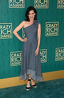 HOLLYWOOD, CA - AUGUST 7: Perrey Reeves at the premiere of Crazy Rich Asians at the TCL Chinese Theater in Hollywood, California on August 7, 2018. <br /> CAP/MPI/DE<br /> &copy;DE//MPI/Capital Pictures