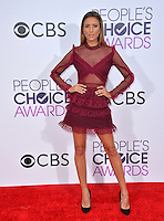 Renee Bargh at the 2017 People's Choice Awards at The Microsoft Theatre, L.A. Live, Los Angeles, USA 18th January  2017<br /> Picture: Paul Smith/Featureflash/SilverHub 0208 004 5359 sales@silverhubmedia.com