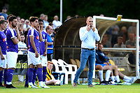 NORG - Voetbal, FC Groningen - SV Meppen, voorbereiding seizoen 2018-2019, 13-07-2018, FC Groningen trainer Danny Buijs