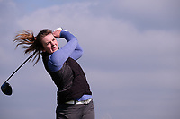 Clodagh Walsh (MU) during the final of the Irish Students Amateur Open Championship, Tralee Golf Club, Tralee, Co Kerry, Ireland. 12/04/2018.<br /> Picture: Golffile | Fran Caffrey<br /> <br /> <br /> All photo usage must carry mandatory copyright credit (&copy; Golffile | Fran Caffrey)