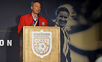 San Jose, CA - March 24, 2017: National Soccer Hall of Fame Induction Ceremony at Avaya Stadium.