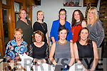 Breda McGaley and Kitsy Fitzgerald both celebrating their birthday's with friends on Saturday night at Bella Bia's  Pictured front l-r  Helen Cusack, Dolly Mangan, Breda McGaley and Kitsy Fitzgerald. Back l-r  Helen Walsh, Lorraine Fitzgerald, Teresa Walsh, Eileen Long and Natasha O'Donoghue