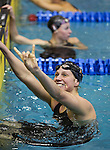 19 MAR 2016: The Division I Women's Swimming & Diving Championship is held at the Georgia Tech Aquatic Center in Atlanta, GA. The University of Georgia won the championship with 414 points. David Welker/NCAA Photos