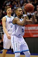 GRONINGEN - Basketbal, Donar - Spirou, Martiniplaza, Europe Cup, seizoen 2019-2020, 27-11-2019,  Donar speler Matt Williams Jr