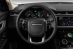 Car pictures of steering wheel view of a 2020 Land Rover Range-Rover-Velar S 5 Door SUV Steering Wheel