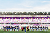 Orlando City, FL - Wednesday March 07, 2018: Germany and France starting line ups during a 2018 SheBelieves Cup match between the women's national teams of Germany (GER) and France (FRA) at Orlando City Stadium.
