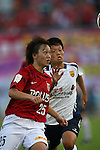 Ruka Norimatsu (Reds Ladies),<br /> AUGUST 17,2014 - Football / Soccer : 2014 Nadeshiko League, between Urawa Reds Ladies 0-1 INAC KOBE LEONESSA at Urawakomaba Stadium, Saitama, Japan. (Photo by Jun Tsukida/AFLO SPORT)