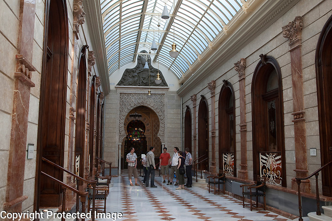 Main Gallery of Royal - Real Casino of Murcia, Spain