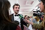 Raul Arevalo win the award at Feroz Awards 2017 in Madrid, Spain. January 23, 2017. (ALTERPHOTOS/BorjaB.Hojas)