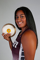 NWA Democrat-Gazette/DAVID GOTTSCHALK  AN RUN-GENTRY FUAMATU — Chastery Fuamatu of Gentry Athlete of the Year photographed Thursday, May 24, 2018, in Springdale.