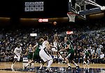 January 14, 2012:   Nevada Wolf Pack guard Deonte Burton takes a shot against the Hawai'i Rainbow Warriors during their NCAA basketball game played at Lawlor Events Center on Saturday night in Reno, Nevada.