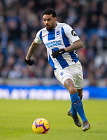 Brighton & Hove Albion's Jurgen Locadia<br /> <br /> Photographer David Horton/CameraSport<br /> <br /> The Premier League - Brighton and Hove Albion v Watford - Saturday 2nd February 2019 - The Amex Stadium - Brighton<br /> <br /> World Copyright © 2019 CameraSport. All rights reserved. 43 Linden Ave. Countesthorpe. Leicester. England. LE8 5PG - Tel: +44 (0) 116 277 4147 - admin@camerasport.com - www.camerasport.com